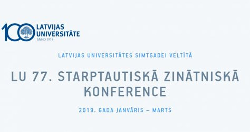 "University of Latvia 77th annual conference Faculty of Humanities  Department of Anthropology ""Tolerance: enacting, feeling, conceptualising"""